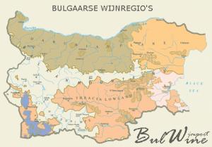 Bulgaarse wijnregio's