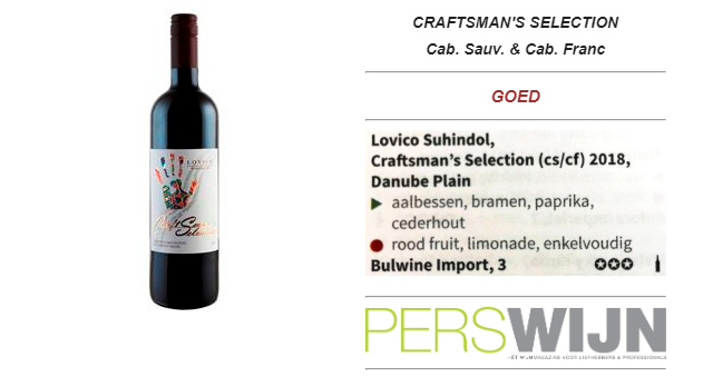 Craftsman's Selection Cabernet Sauvignon & Cabernet Franc